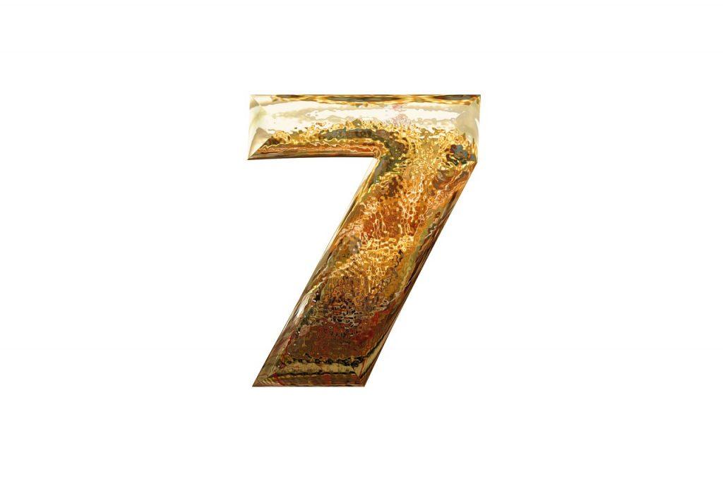 エンジェルナンバー 7のゾロ目
