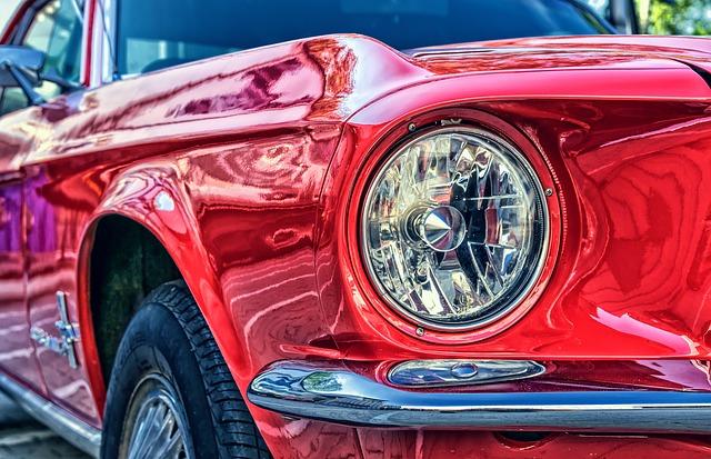 赤い車 夢