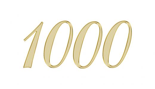 エンジェルナンバー1000が伝える意味やメッセージとは?