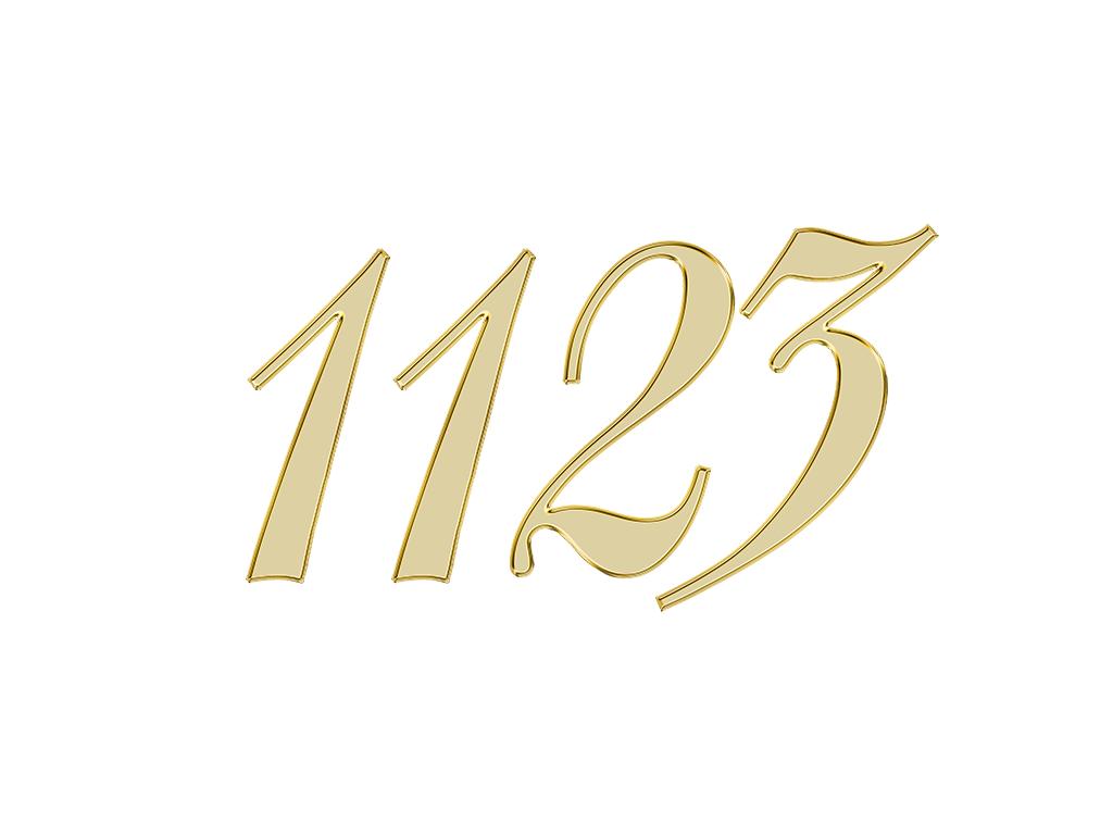 エンジェルナンバー 1123