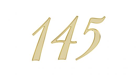 エンジェルナンバー145の意味は【天使との調和】