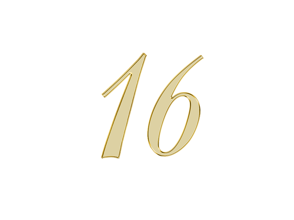 エンジェルナンバー 16
