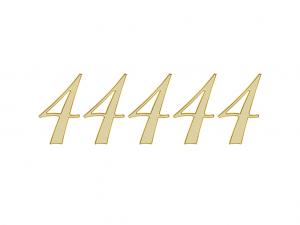 エンジェルナンバー 44444