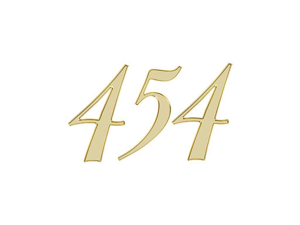 エンジェルナンバー 454