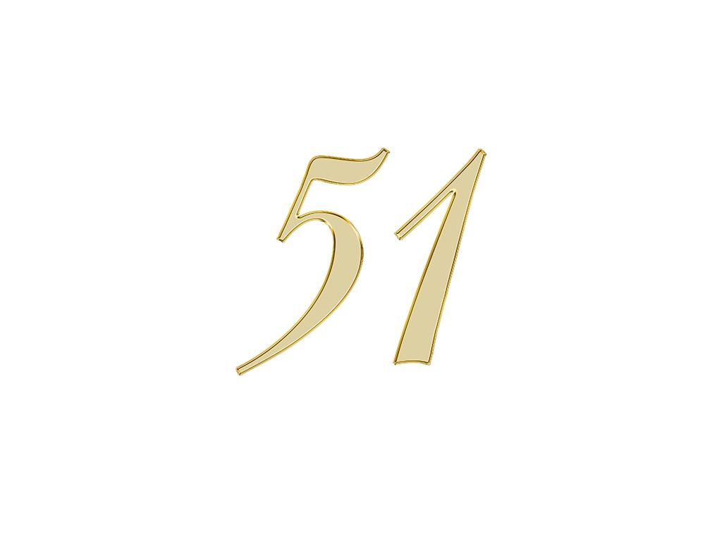 エンジェルナンバー 51