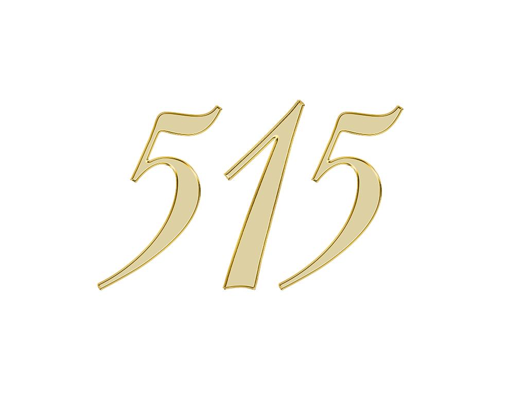 エンジェルナンバー 515