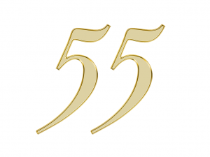 エンジェルナンバー 55