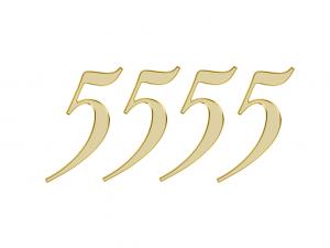 エンジェルナンバー 5555