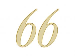 エンジェルナンバー 66