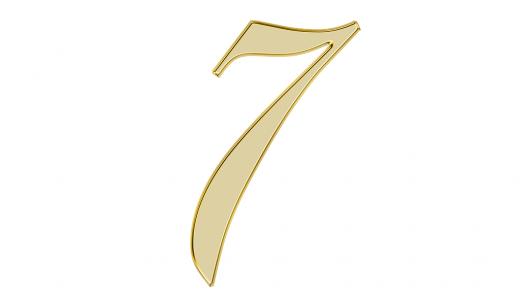 エンジェル ナンバー『7』の意味やメッセージとは?