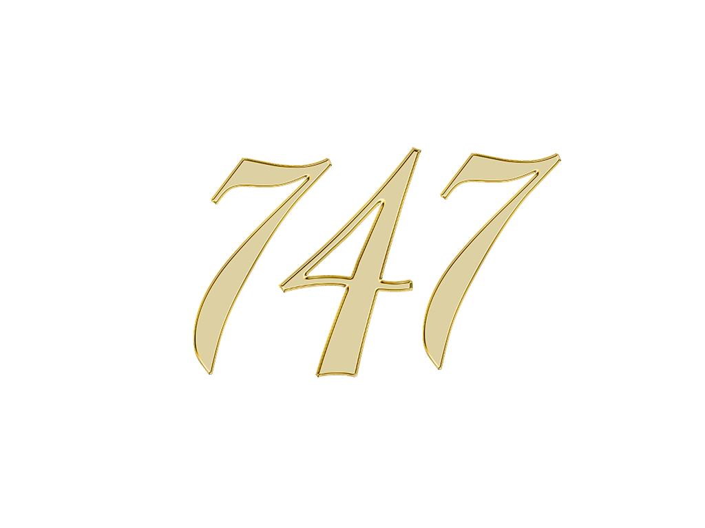 エンジェルナンバー 747