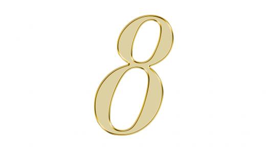 エンジェルナンバー『8』に込められた意味とは?