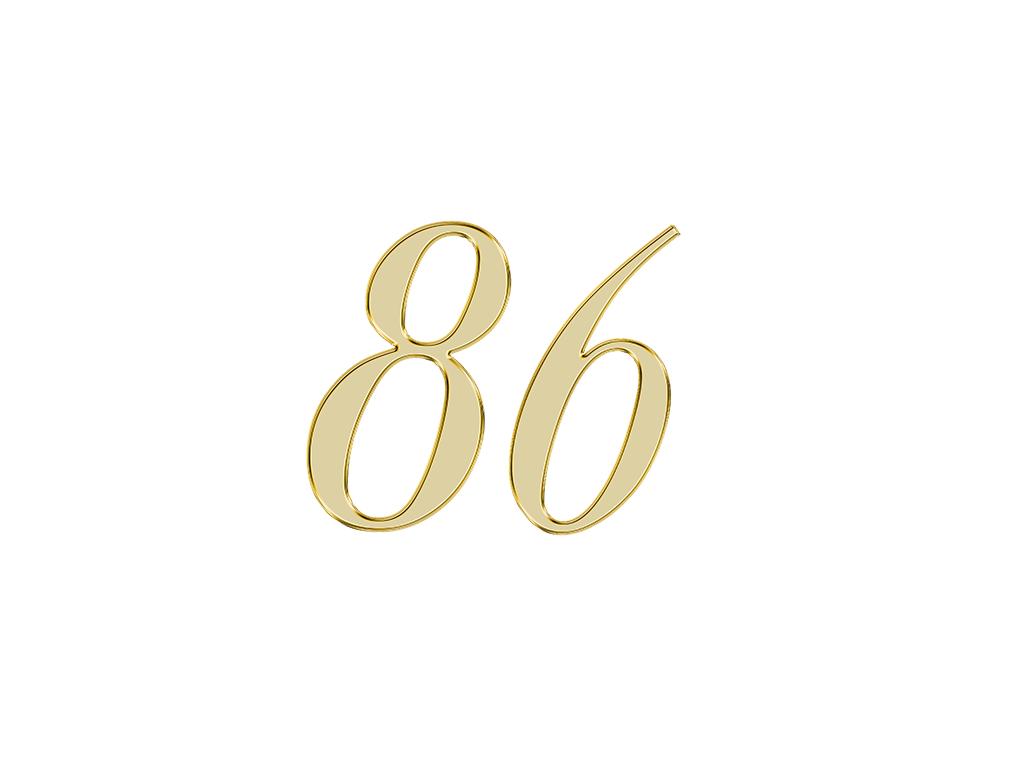 エンジェルナンバー 86