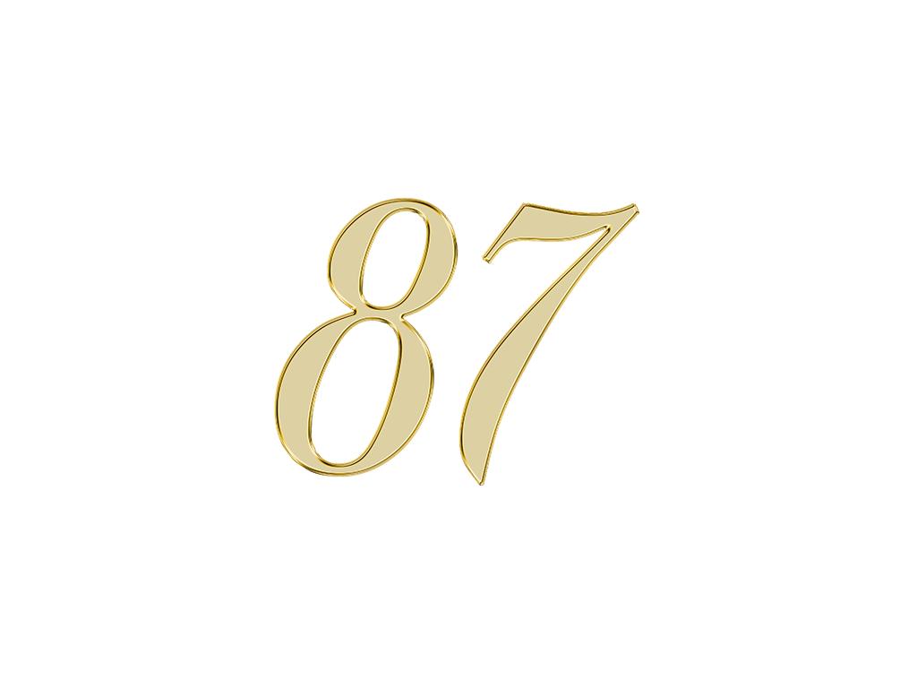 エンジェルナンバー 87