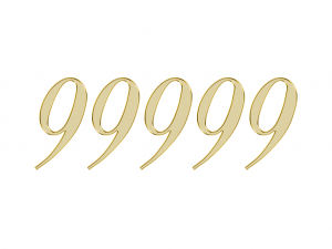 エンジェルナンバー 99999