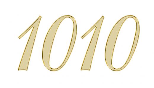 1010のエンジェルナンバーが伝えているメッセージとは?