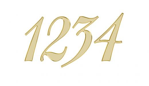 1234のエンジェルナンバーの意味やメッセージとは?
