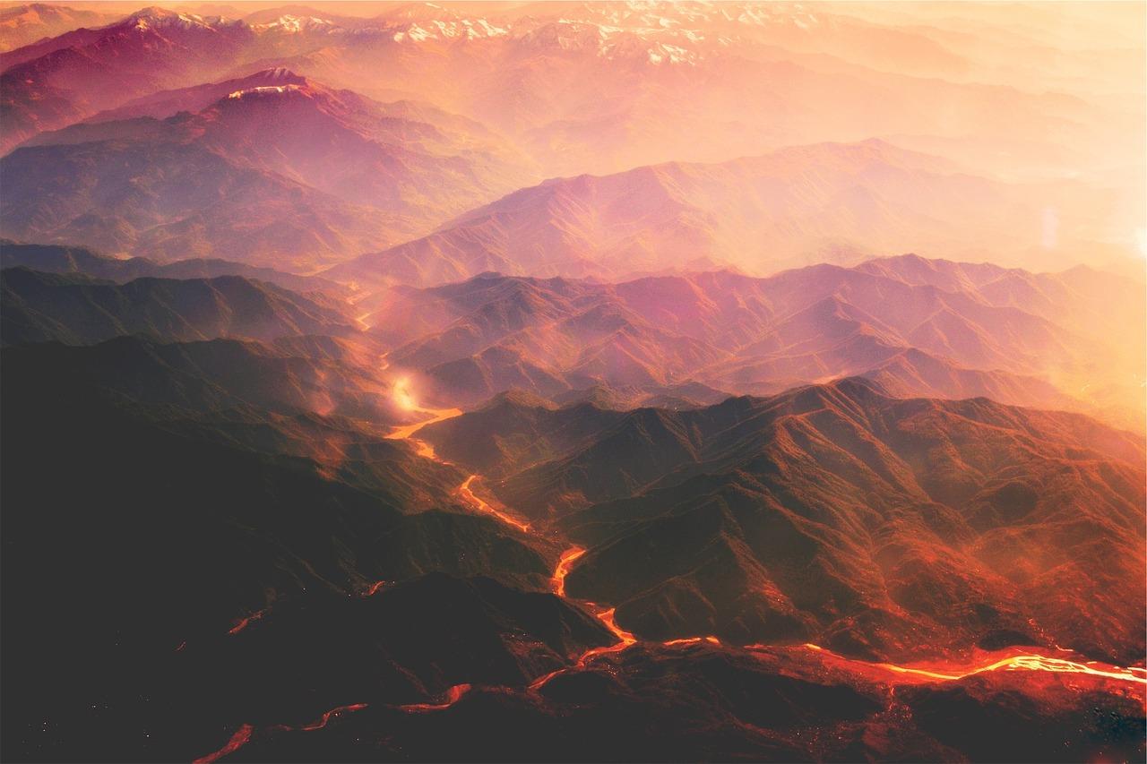 夢占い 火山