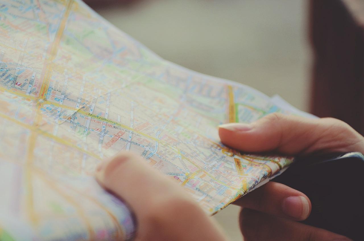 夢占い 地図