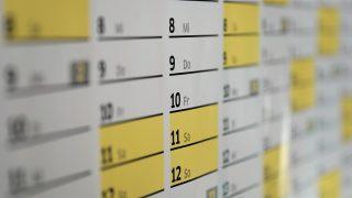 夢占い カレンダー