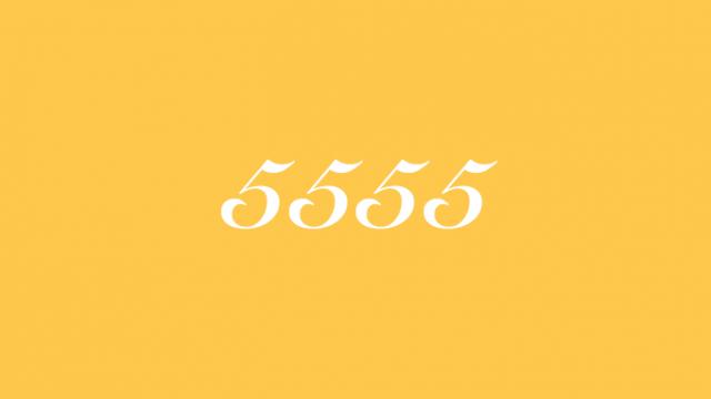 5555 エンジェルナンバー