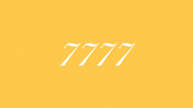7777 エンジェルナンバー