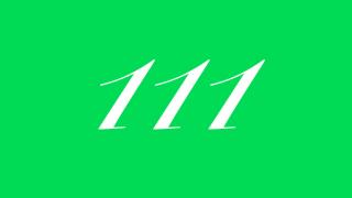 111 エンジェルナンバー