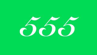 555 エンジェルナンバー
